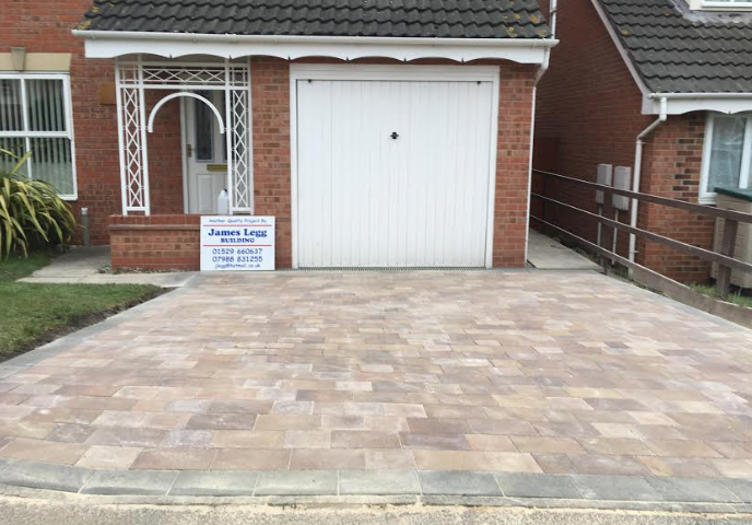 Driveways Lincolnshire - James Legg Building - Based In Lincolnshire